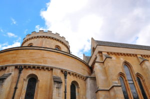 Templar Church in London where Da Vinci Code was filmed.
